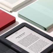 کتاب خوان الکترونیکی نولیم (Nolim) با قاب های هوشمند رنگی