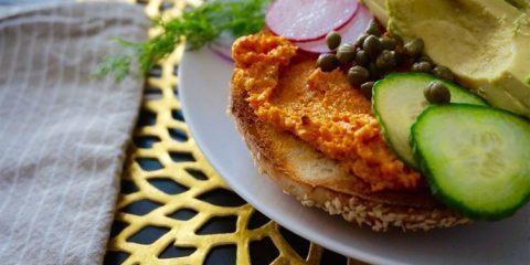 طرز تهیه کره هویج کبابی سریع و خوشمزه