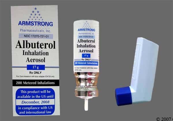آشنایی با داروی آسم - آلبوترول