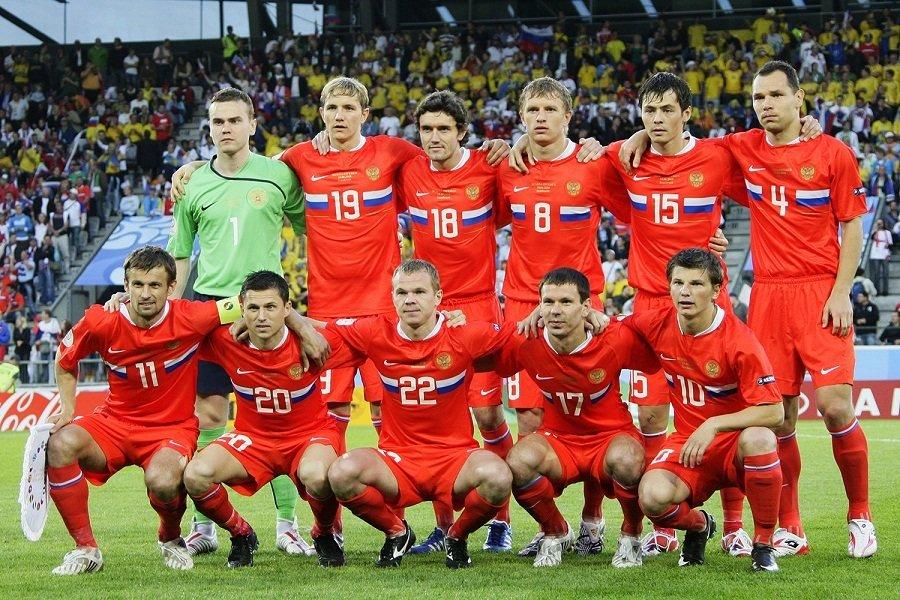 اعضای تیم فوتبال روسیه
