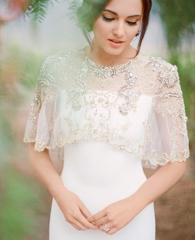 شنل لباس عروس
