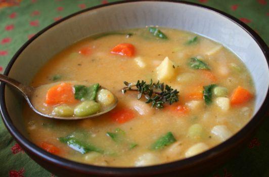 انواع سوپهای گیاهی