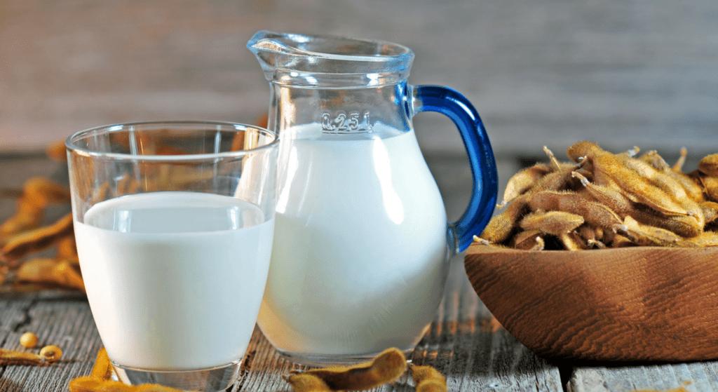 شیر سویا خانگی ؛ آسان و ارزان با آموزش تصویری و مرحله به مرحله