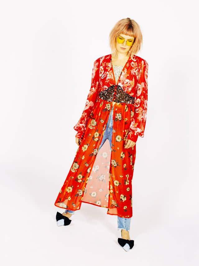مانتو، یکی از مهم ترین لباسهای گلدار