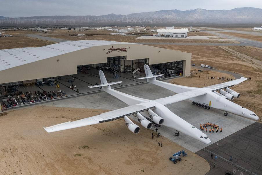 هواپیمای استراتولانچ : بزرگترین هواپیمای جهان برای پرتاب موشک به فضا