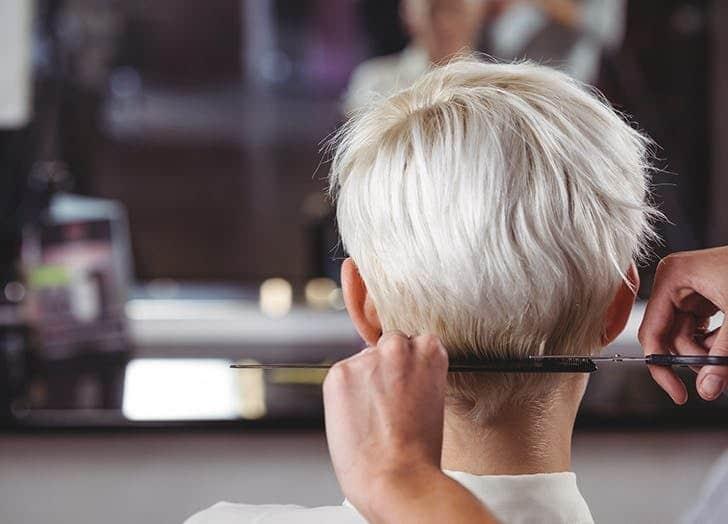 کوتاه کردن موی سفید