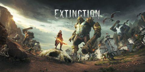 مبارزه با غول در بازی Extinction