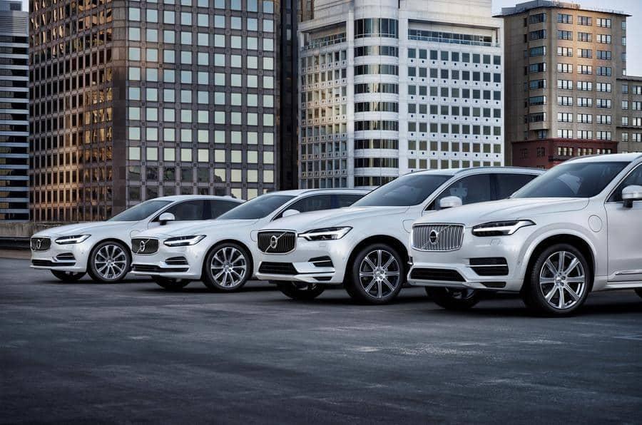 خودروهای جدید ولوو