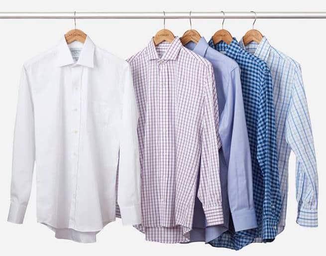 پیراهن در استایل مردانه
