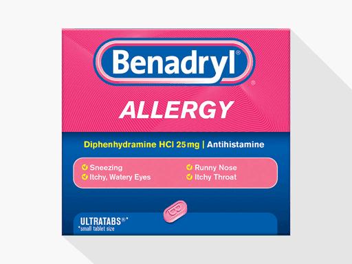 معرفی کامل داروی بنادریل (Benadryl) یا دیفن هیدرامین (Diphenhydramine)