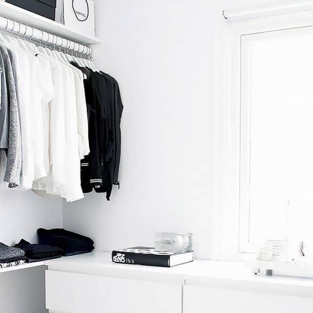مراحل مرتب کردن کمد لباس