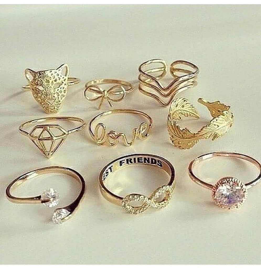 جواهرات مختلف : انواع انگشتر