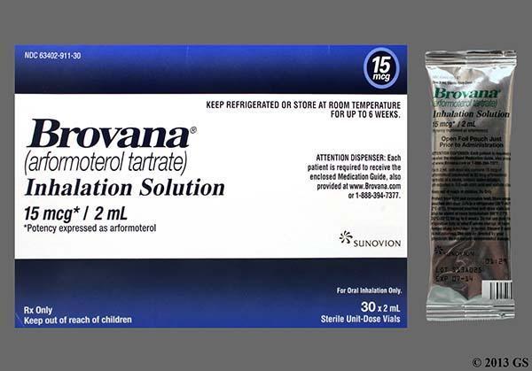 معرفی کامل داروی استنشاقی بروانا (Brovana) یا آرفورموترول (Arformoterol)