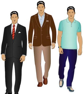 لباس پوشیدن مانند مردان