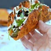 نان تاکوی هویج صدفی