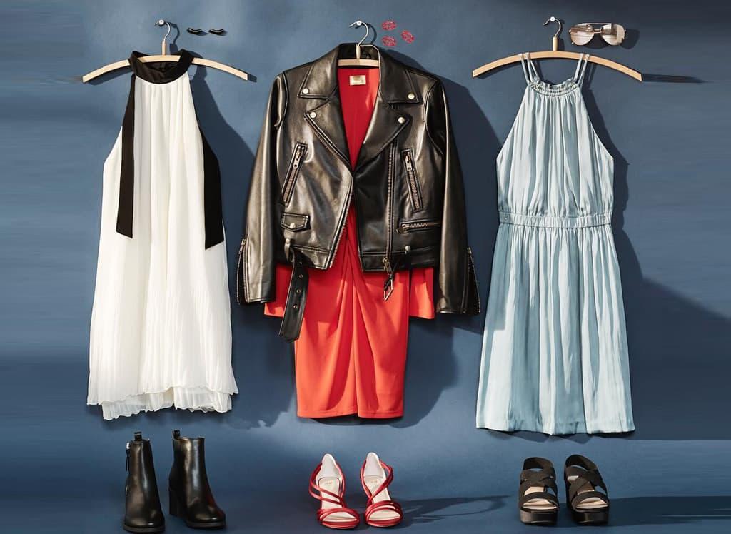ترفندهایی برای پوشیدن بلوز و دامن و لباس چپ راستی زنانه