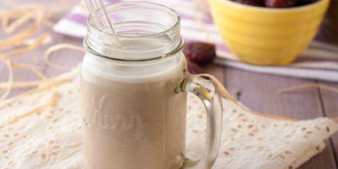 شیر تخم کتان خانگی تصویری