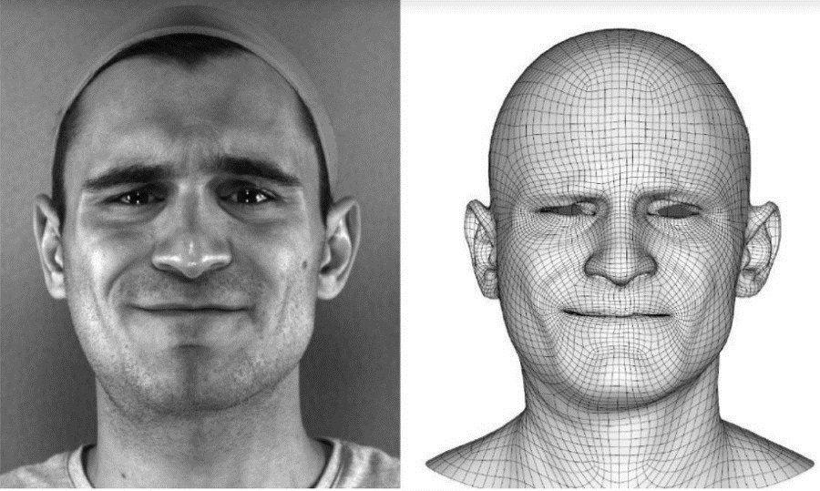 انیمیشن چهره