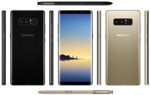 قیمت گوشی Samsung Galaxy Note 8