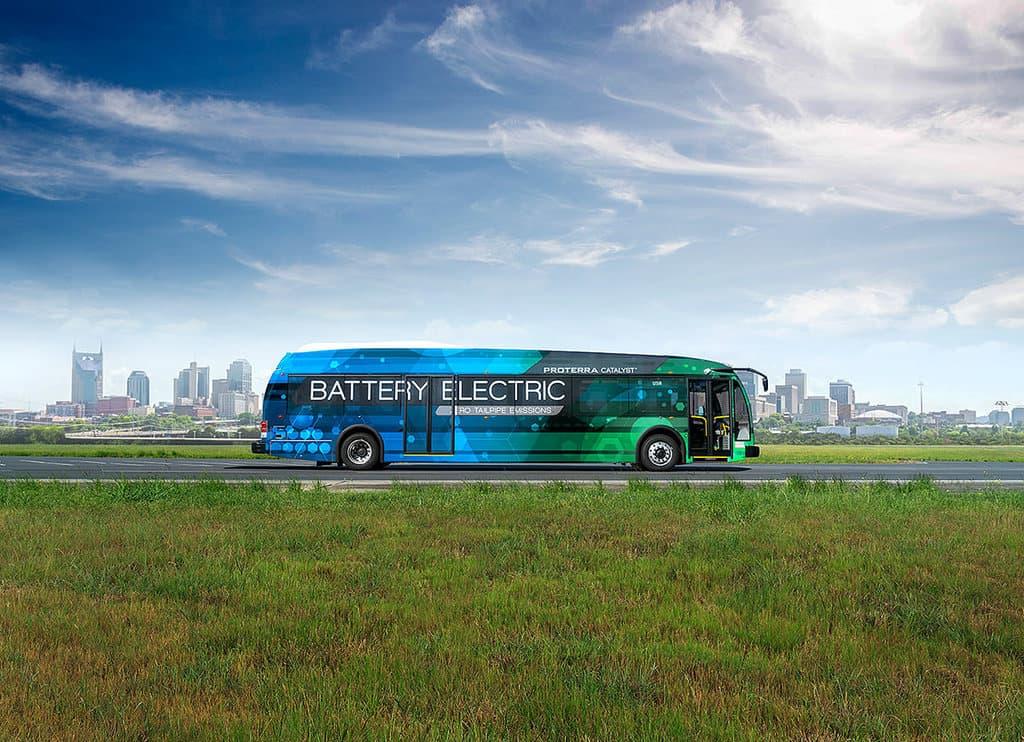 رکوردشکنی اتوبوس الکتریکی Proterra