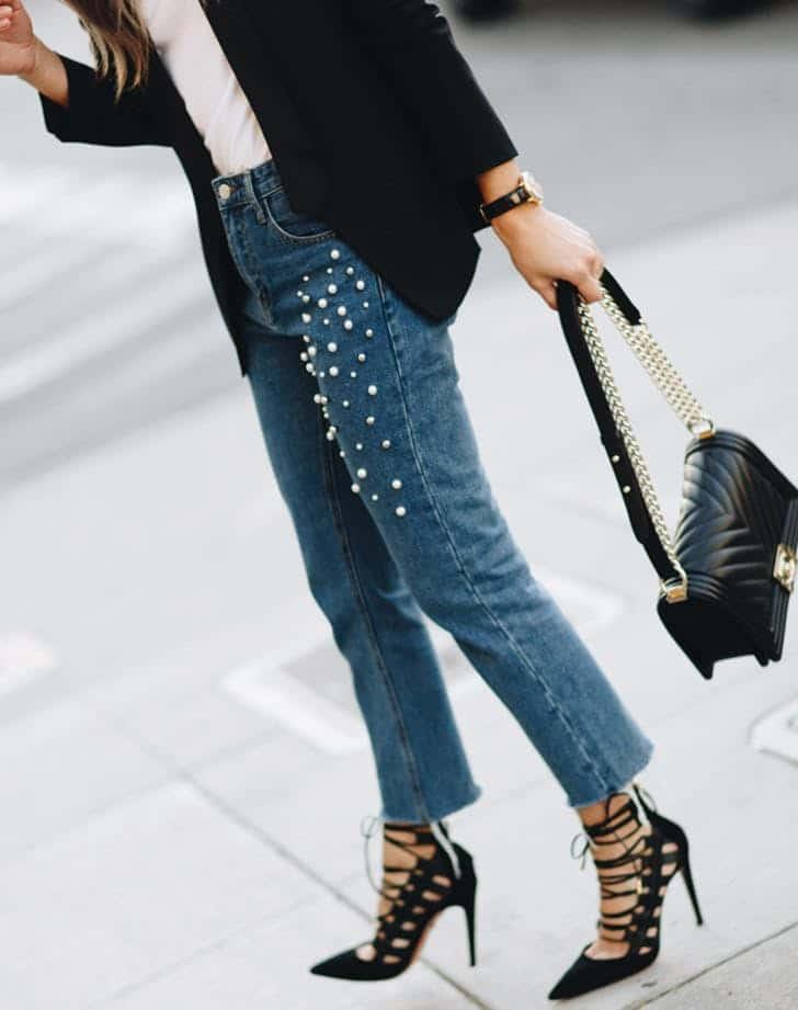 جدیدترین مدلهای لباس جین در پاییز