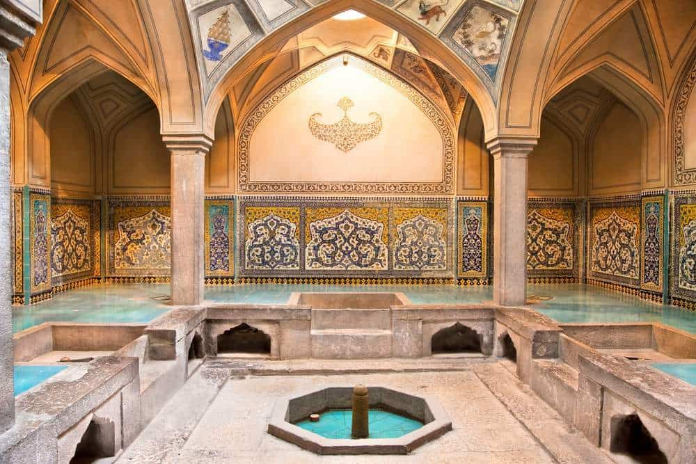 حمام های عمومی در ترکیه