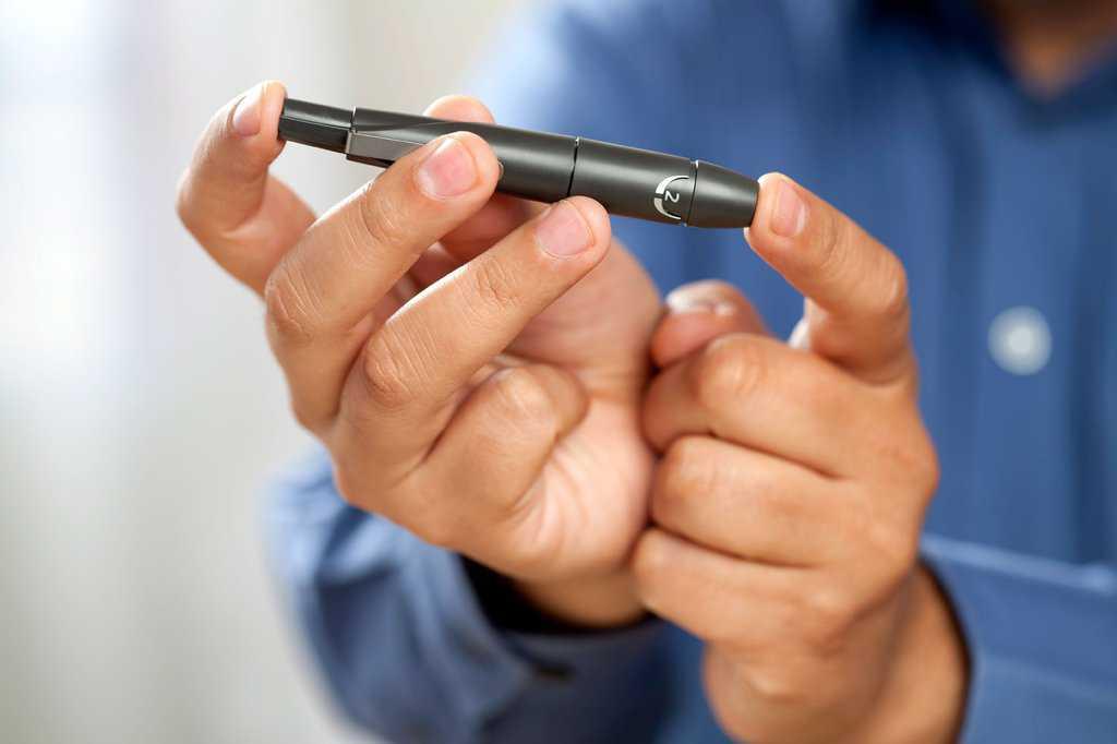 خستگی بر اثر دیابت