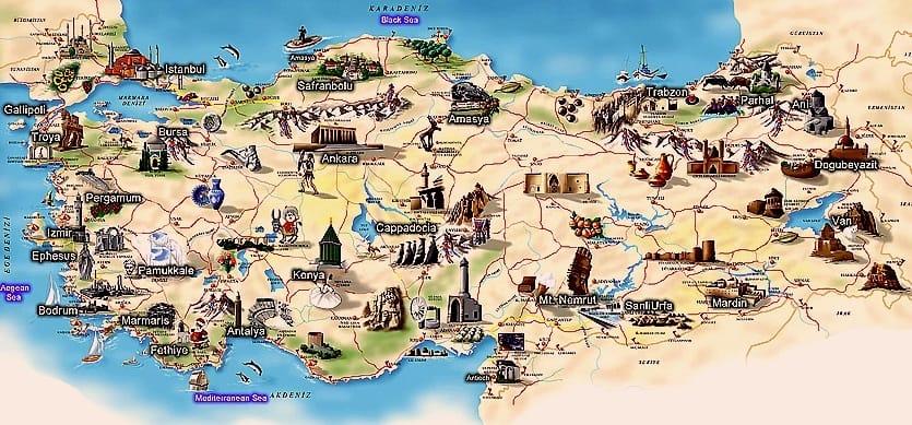 هنگام سفر به ترکیه،تقریباً برای ورود به همهی شهرهای اصلی در این کشور، باید مبلغی را بپردازید.