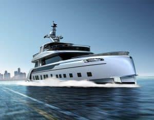 قایق تفریحی 12 میلیون یورویی پورشه