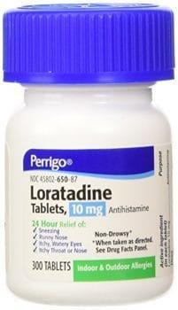 لوراتادین یک داروی ضد حساسیت (آنتیهیستامین) است