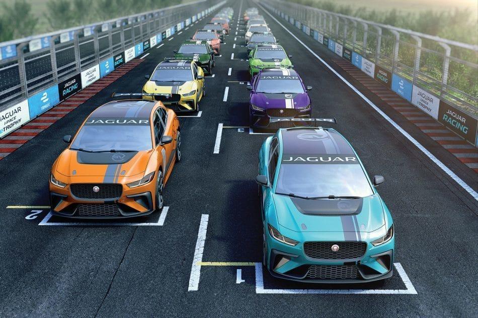 ساخت مدل مسابقهای خودروی I-Pace
