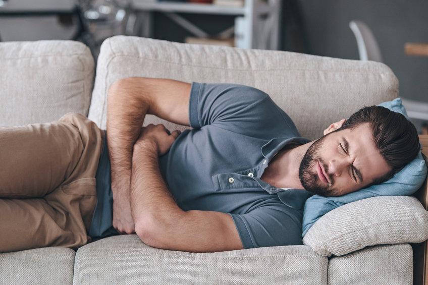 ناراحتی معده در زمان خواب