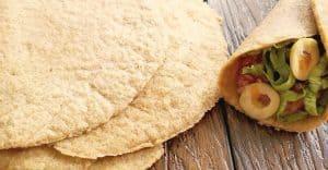 نان تورتیلای تخم کتان