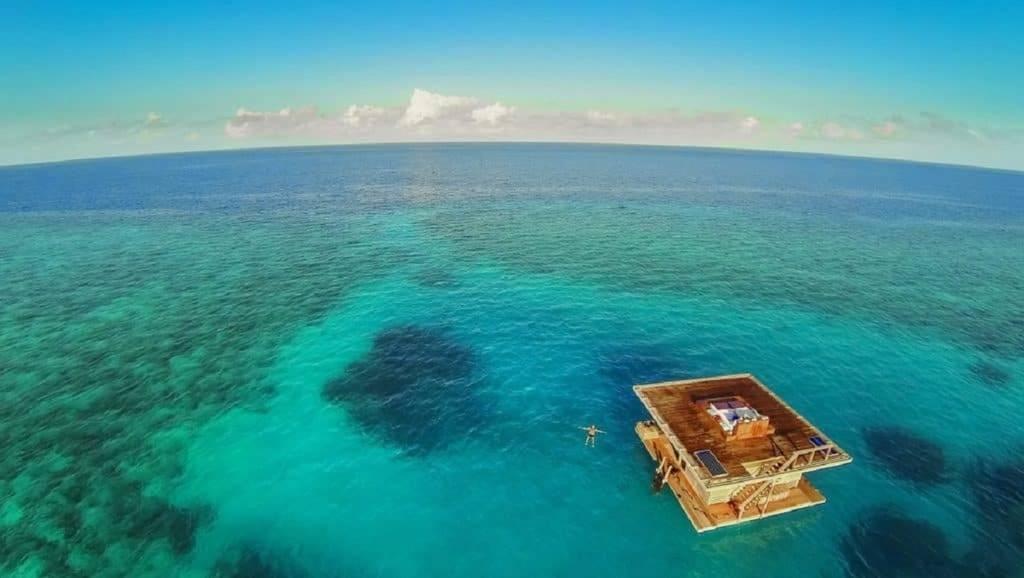 زیباترین هتلهای زیر آبی جهان در جزیره پمبای فیجی