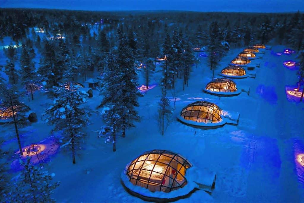 هتل کلبه یخی