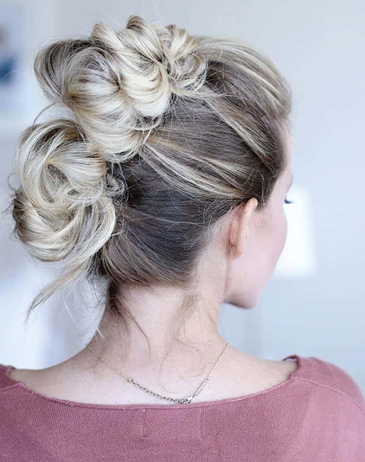 مدل موی گرد ساده