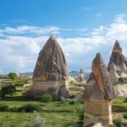 کاپادوسیه در کشور ترکیه