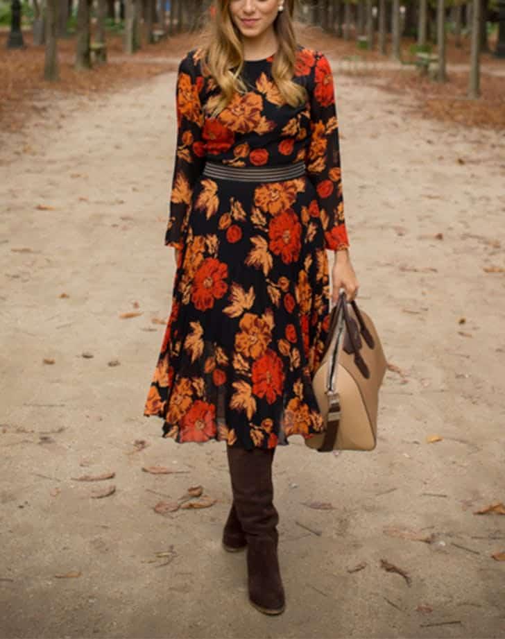 انواع ترکیب لباس پاییزی جدید