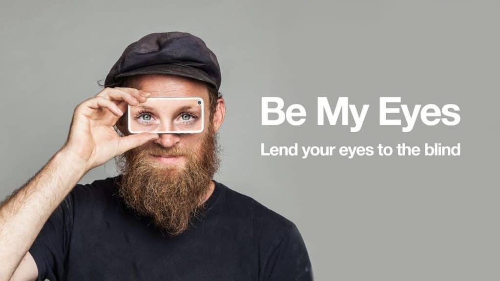 کمک تکنولوژی به افراد نابینا با اپلیکیشن چشمان من باش