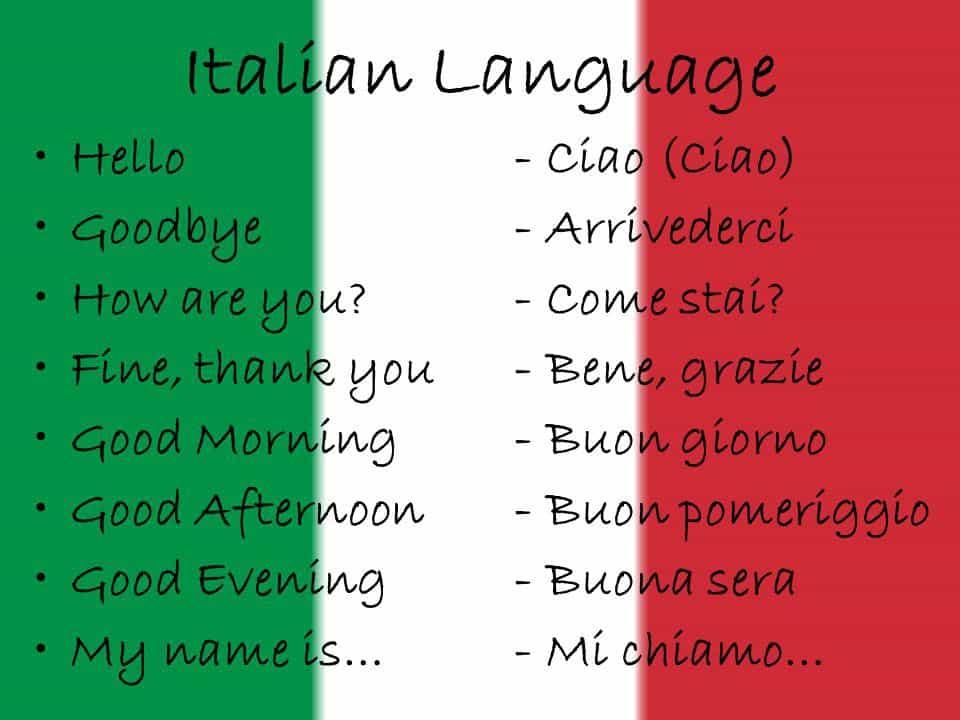 زبان مردم ایتالیا
