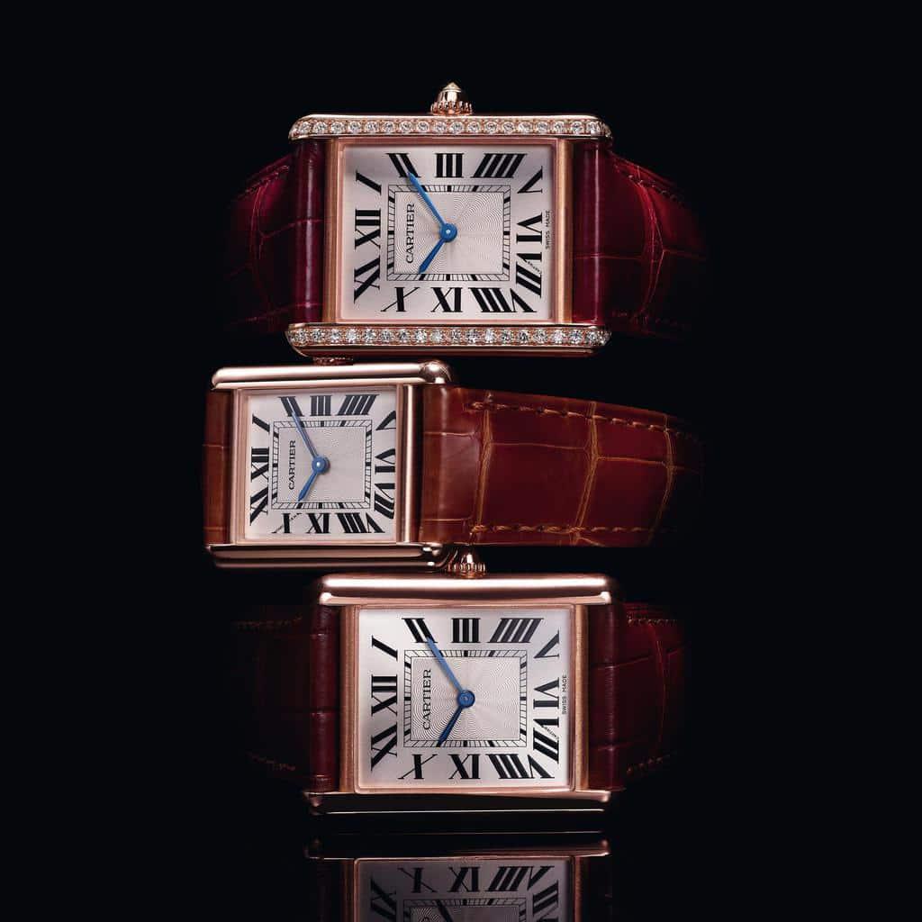 تاریخچه ساعت مچی کارتیه