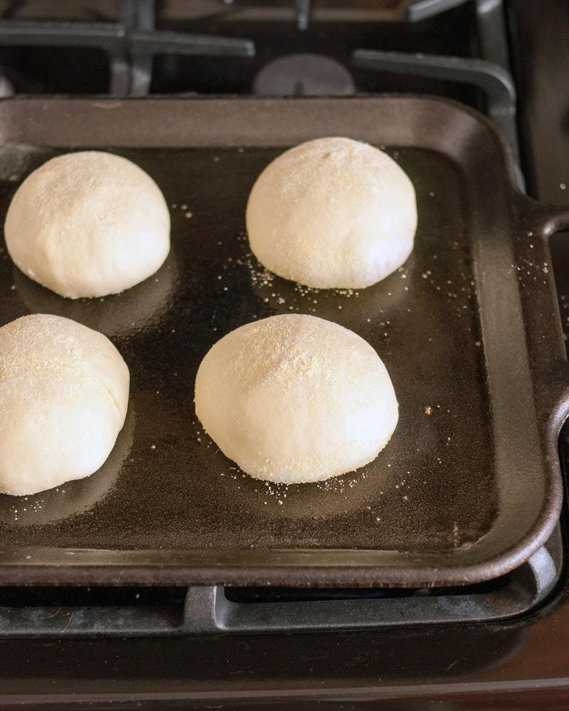 پخت خمیر نان
