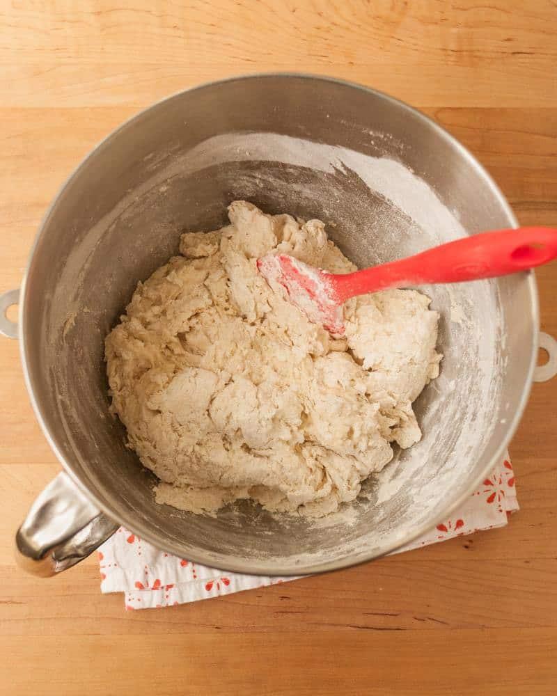 درست کردن خمیر نان