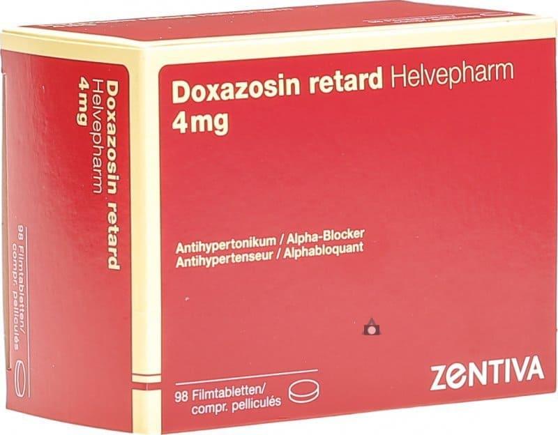 دوکسازوسین برای درمان فشار خون بالا، یا بهبود ادرار کردن در مردانی که بزرگشدگی پروستات دارند، استفاده میشود.
