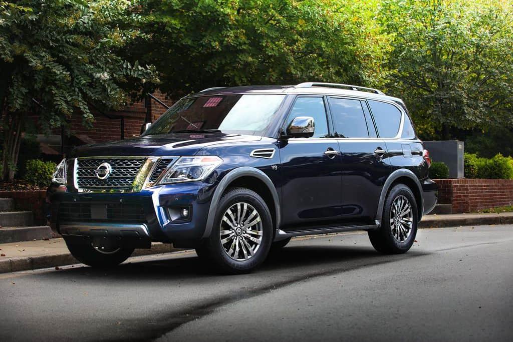 معرفی مدل 2018 خودروی Nissan Armada
