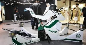 موتورهای پرنده پلیس دبی