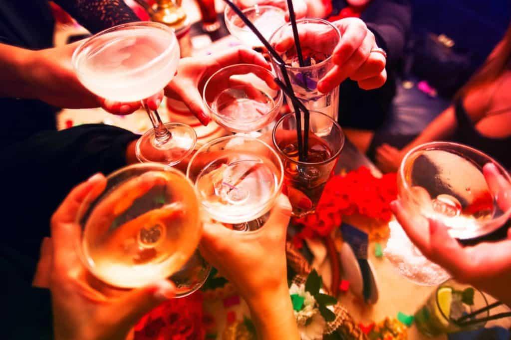 نوشیدن الکل و اثر آن بر کبودی بدن