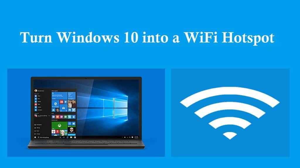چگونه لپ تاپ یا کامپیوتر ویندوز ۱۰ خود را به یک هات اسپات وای فای تبدیل کنیم؟