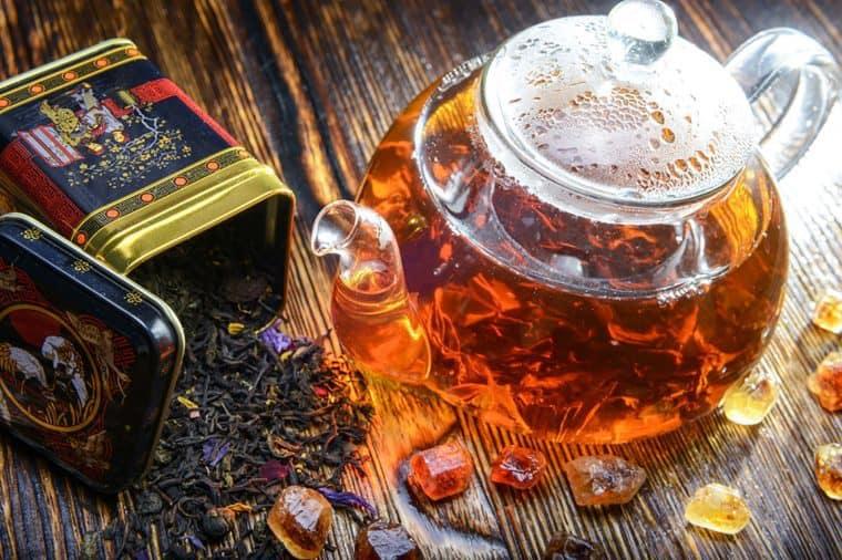 چای سیاه درمانی