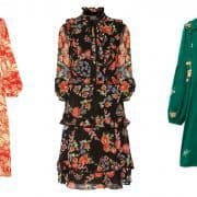 چند ترکیب و مدل لباس گلدار زیبا که در پاییز میتوانید امتحان کنید